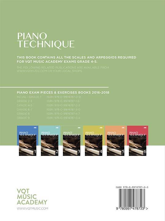 Piano Technique Grade 4 - 5 Book 3