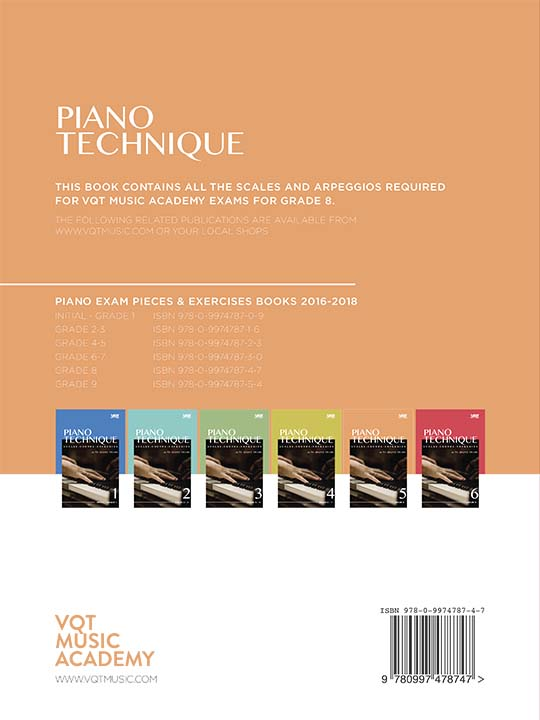 Piano Technique Grade 8 Book 5